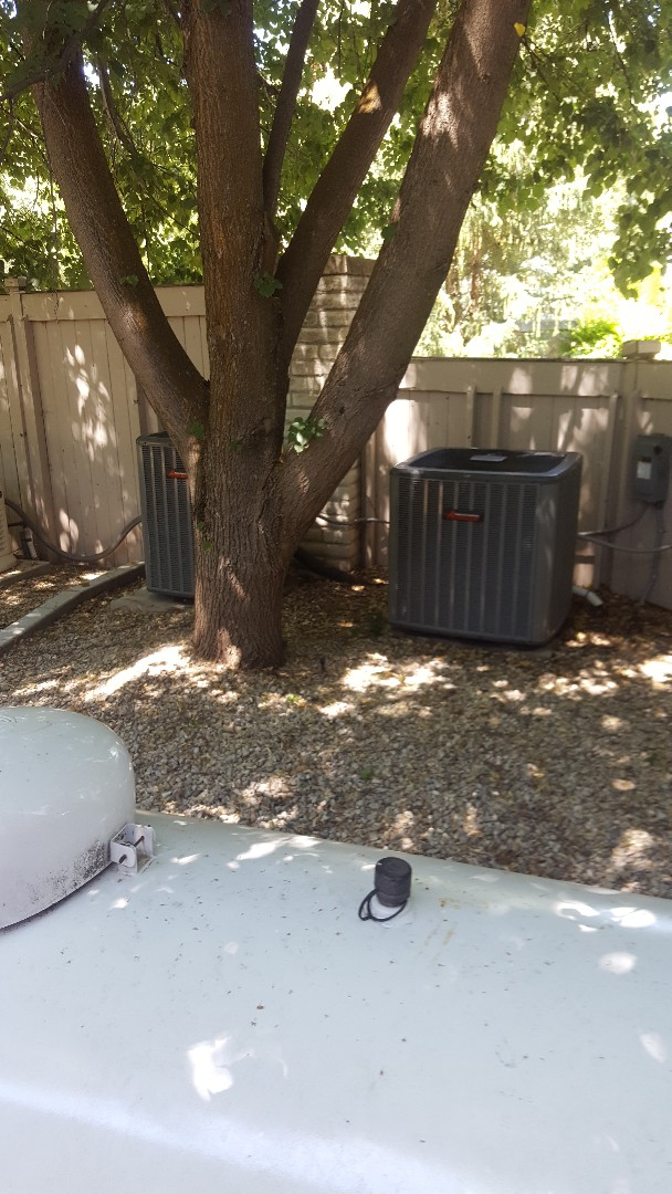 Holladay, UT - A/C tune ups on 5 Amana air conditioners and one day and night air conditioner