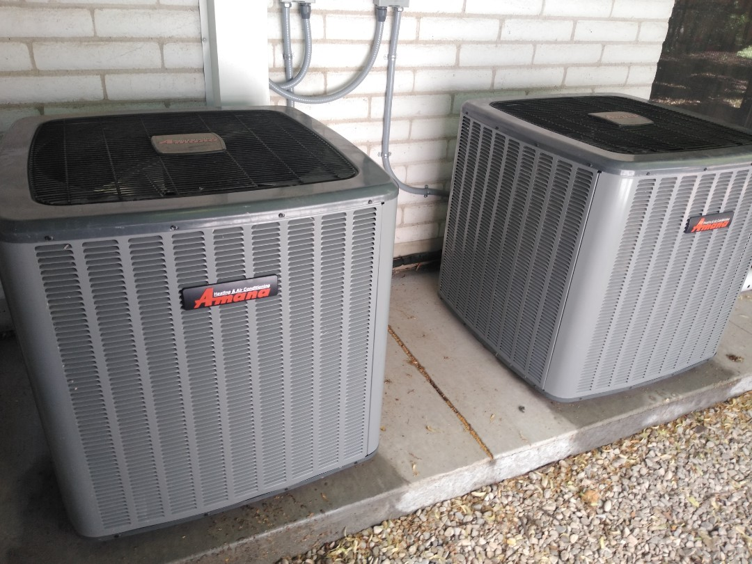 Holladay, UT - Air conditioning tune-ups on five Amana and one Day and Night air conditioners
