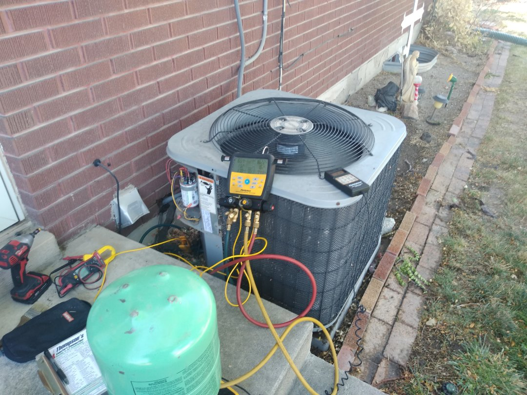 Riverton, UT - Air conditioner tune-up on Aire-flo air conditioner