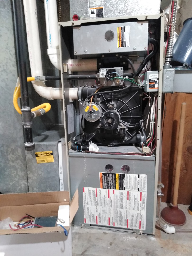Salt Lake City, UT - Furnace repair on Carrier furnace