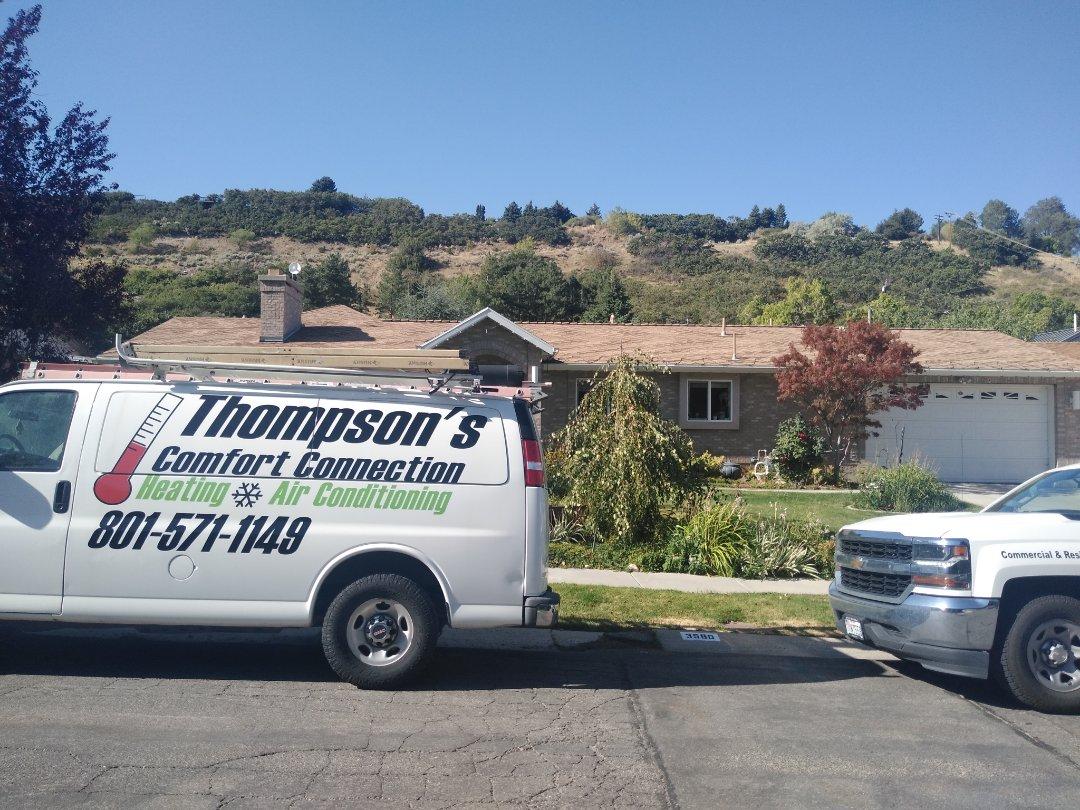 Cottonwood Heights, UT - Air conditioner repair on Amana Air conditioner
