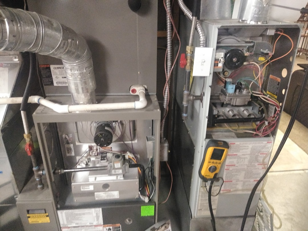 Draper, UT - Furnace the tune-ups on one Lennox furnace and one Day and Night furnace