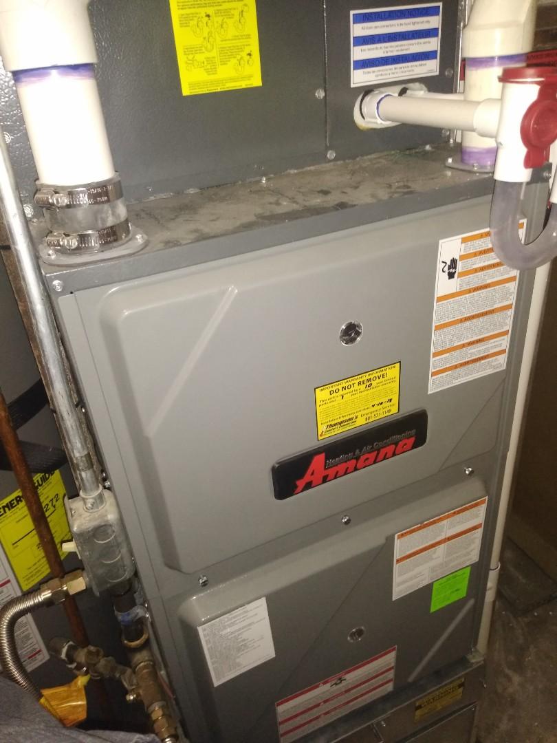 Magna, UT - Furnace tune-up on Amana furnace