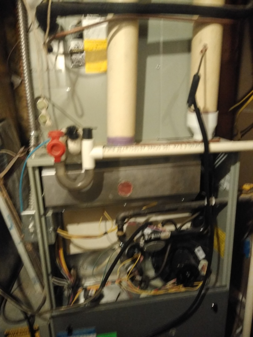 Cottonwood Heights, UT - Furnace tune-ups on Two Trane furnaces