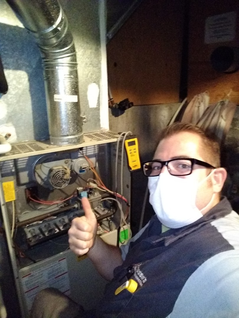 Salt Lake City, UT - Furnace tune-up on Carrier furnace