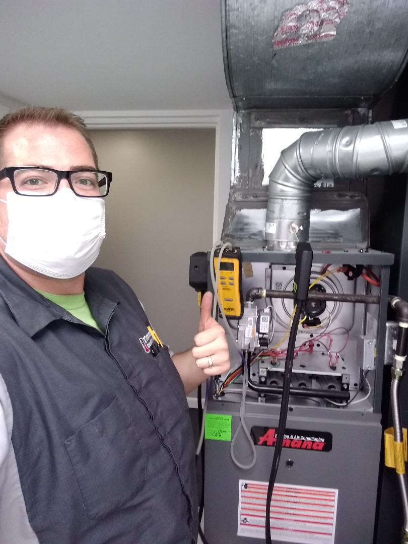 Holladay, UT - Furnace tune-ups on two Amana furnaces