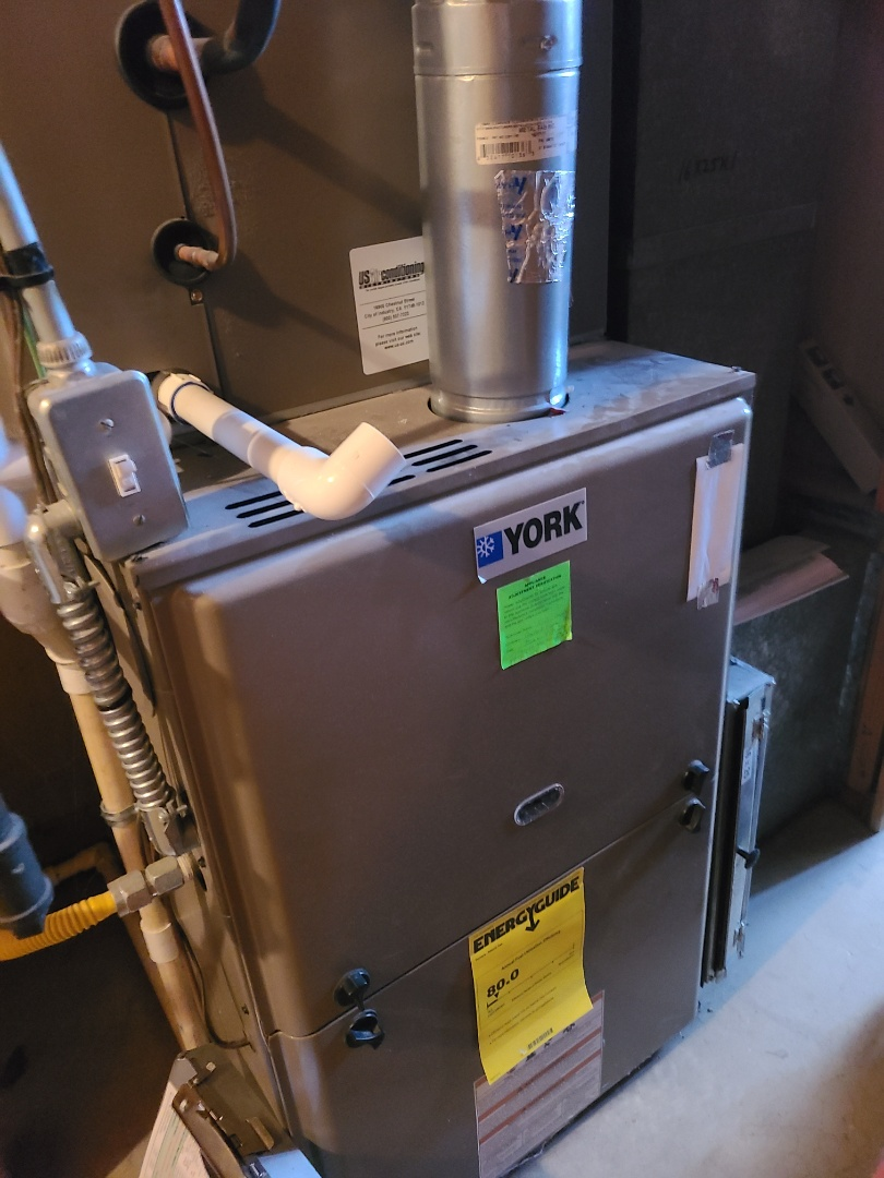 Cottonwood Heights, UT - Furnace tune-up on York furnace
