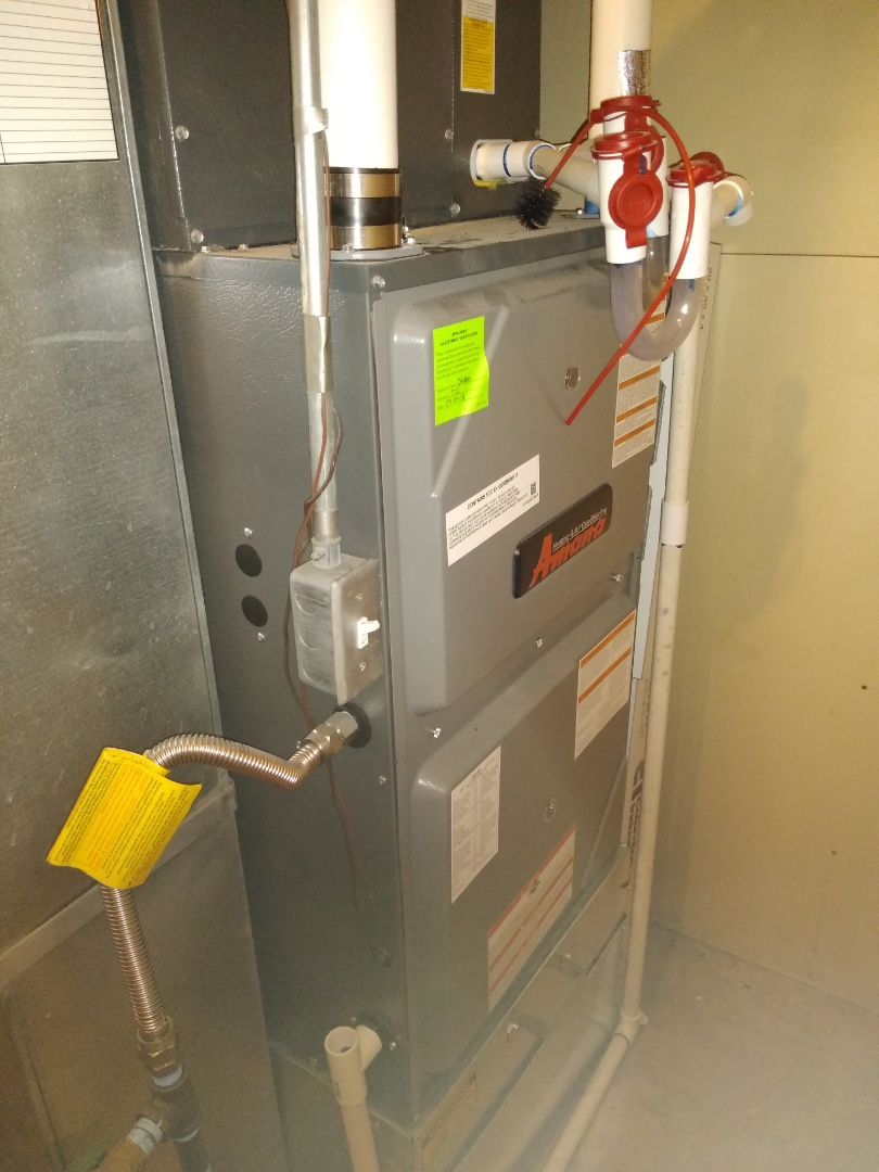 Riverton, UT - Furnace tune-up on Amana furnace