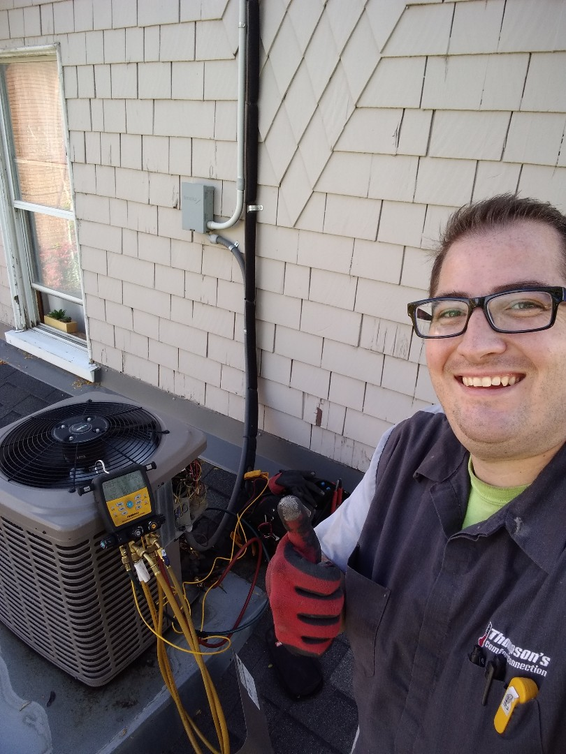 Salt Lake City, UT - Furnace and air conditioning tune-ups on York furnace and air conditioner. Tune-up on one Lennox furnace.