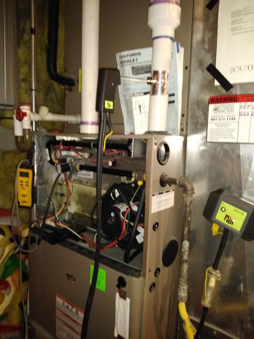 South Jordan, UT - Furnace tune-up on York furnace