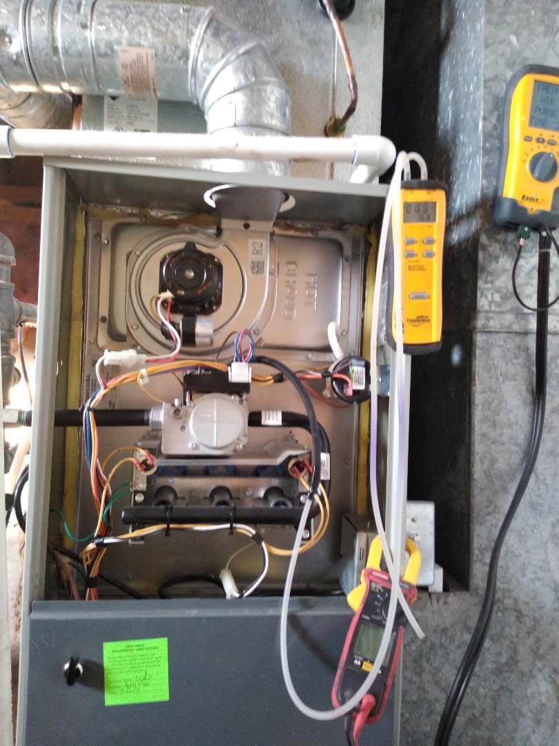 Murray, UT - Furnace tune up on American Standard furnace