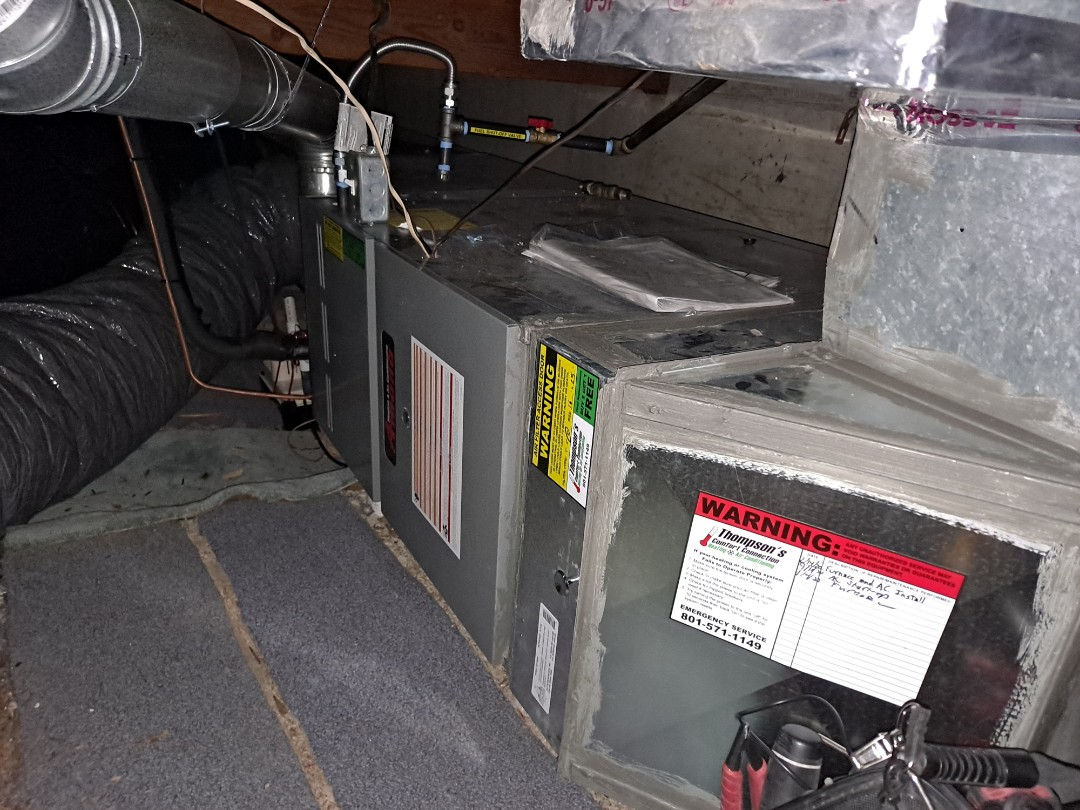 Holladay, UT - Furnace tune-up on Amana furnace