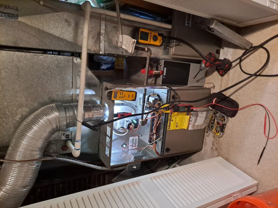 Salt Lake City, UT - Furnace tune-ups on one York furnace and one Trane furnace