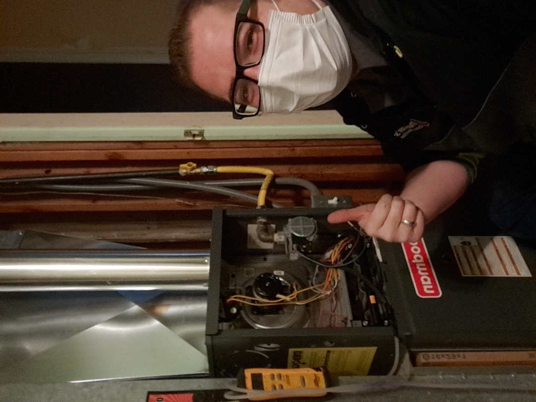 Salt Lake City, UT - Furnace repair and tune-up on Goodman furnace