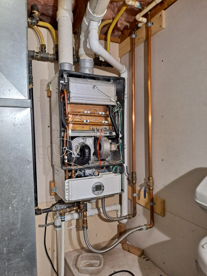 Herriman, UT - Water heater diagnostic on Bosch tankless water heater