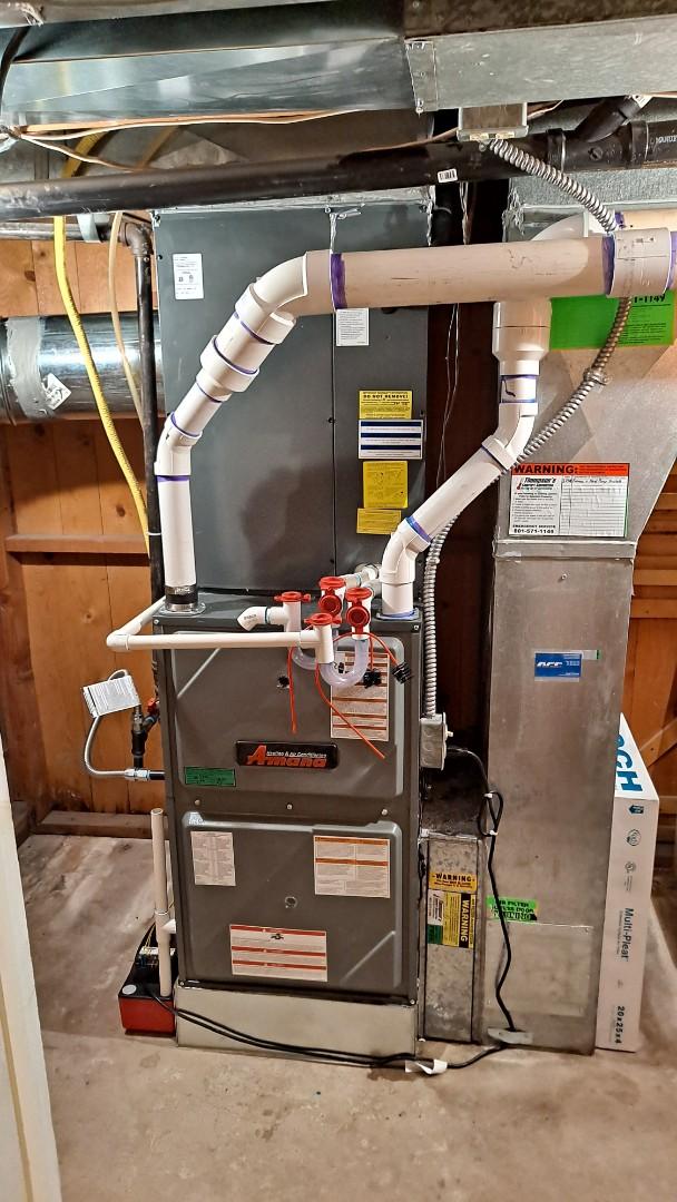 Salt Lake City, UT - Install Amana duel fuel heat pump and furnace