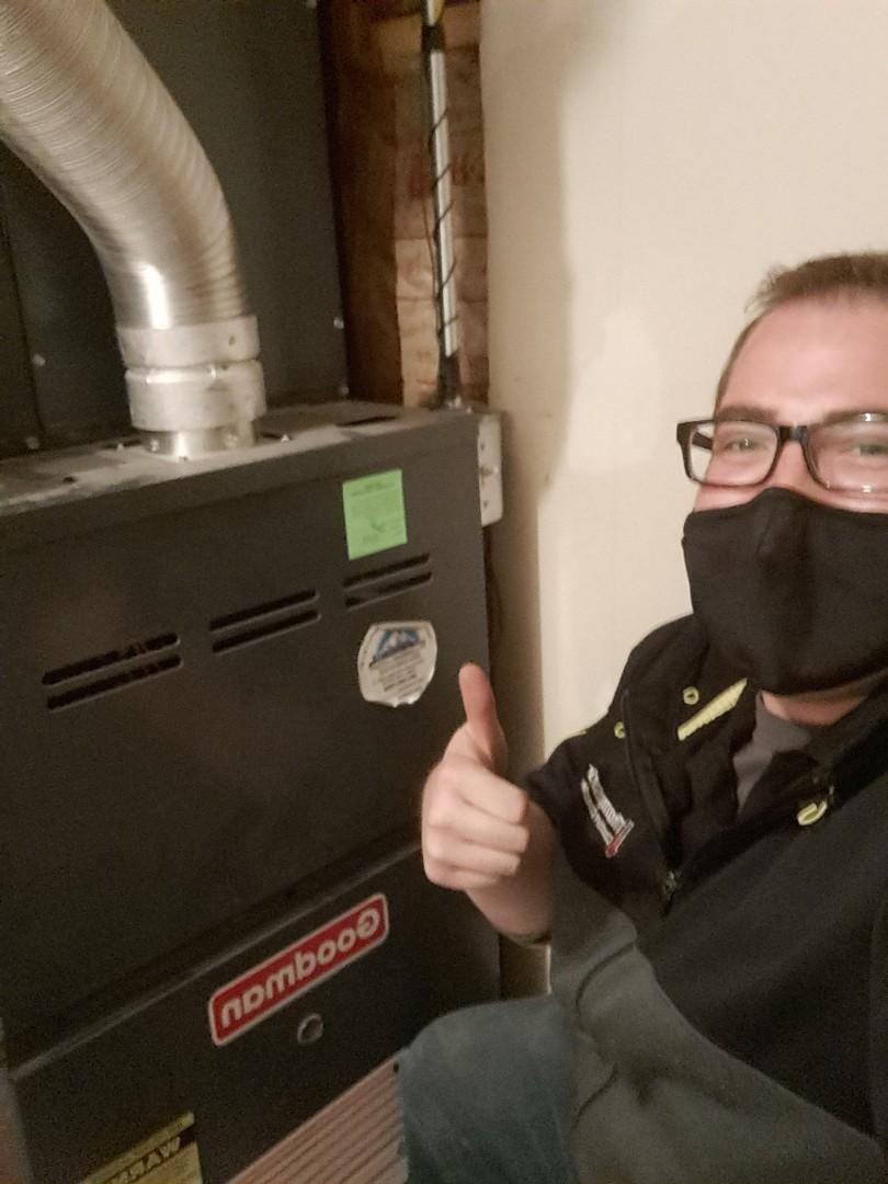 West Jordan, UT - Furnace repair on Goodman furnace