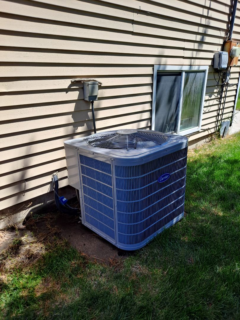 Salt Lake City, UT - Air conditioner tune-up on Carrier Air conditioner