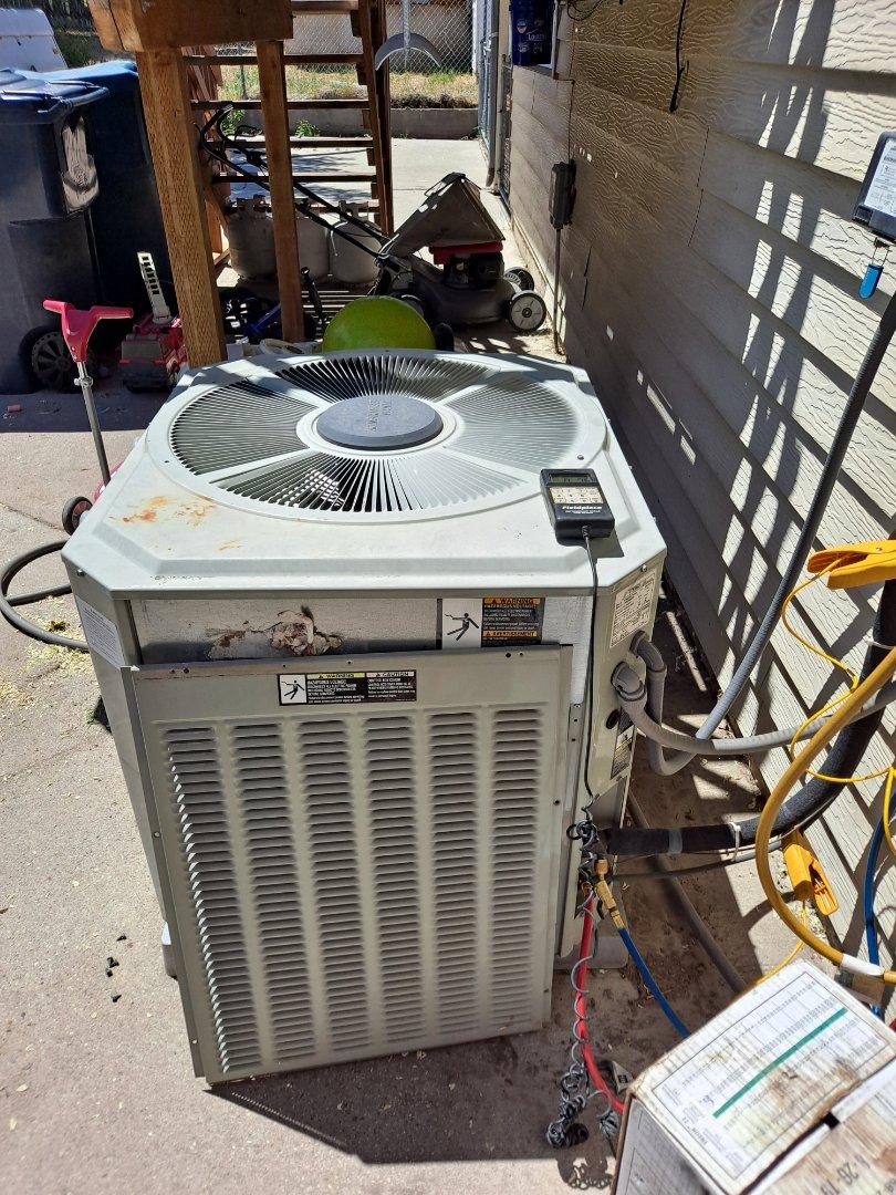 Draper, UT - Air conditioner repair on Trane Air conditioner