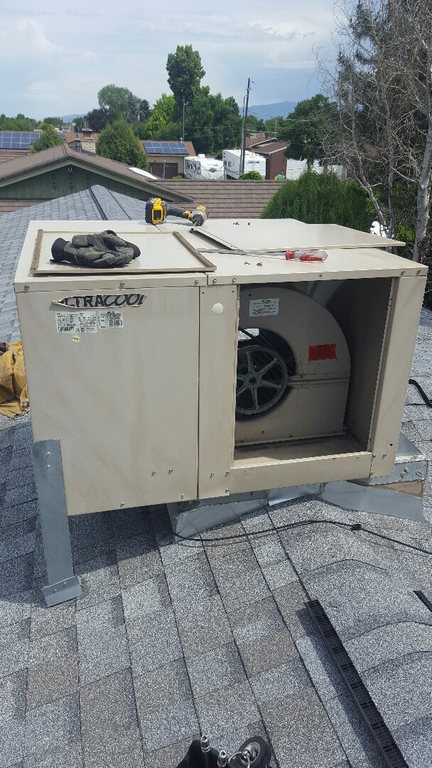 Midvale, UT - Swamp cool mat. Swamp cooler start up on ultracool.