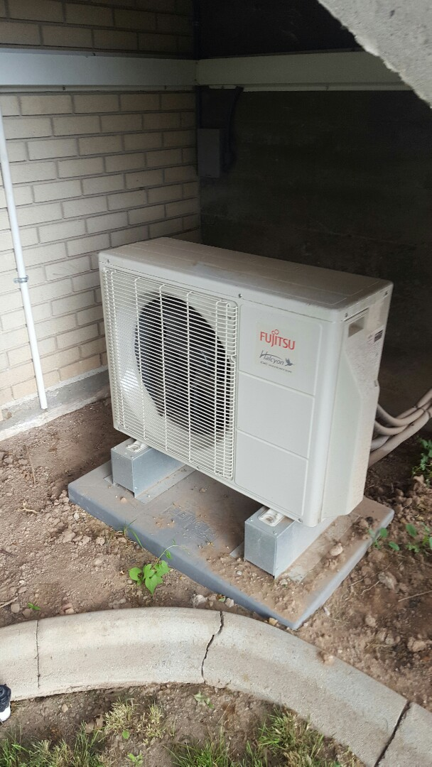 Salt Lake City, UT - Ac repair on Fujitsu unit
