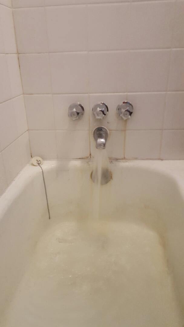 Salt Lake City, UT - Plumber needed. Performed plumbing repair on leaking price pfister 3 handle shower valve. Install new rubber washer. Inspection on bathtub drain pipe.