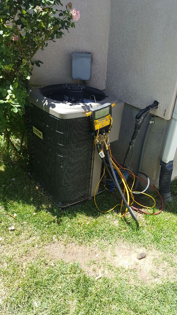 Midvale, UT - Ac service call on York unit