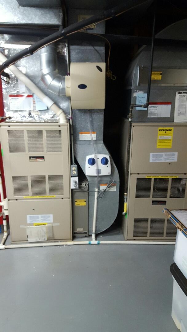 Salt Lake City, UT - furnace tune up. on amana unit.