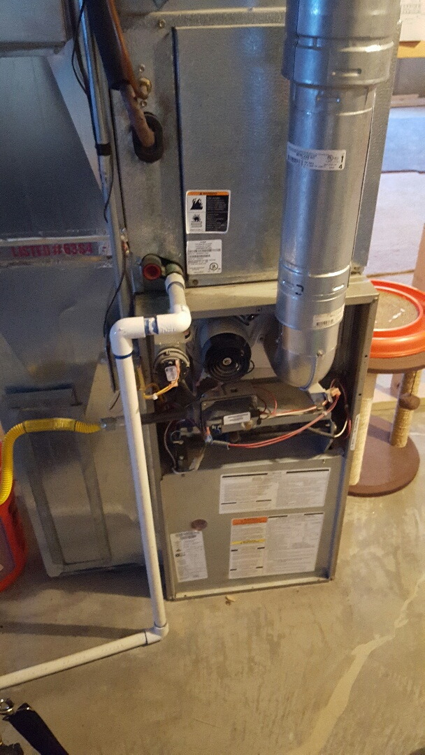 Herriman, UT - furnace service call. on brayant unit