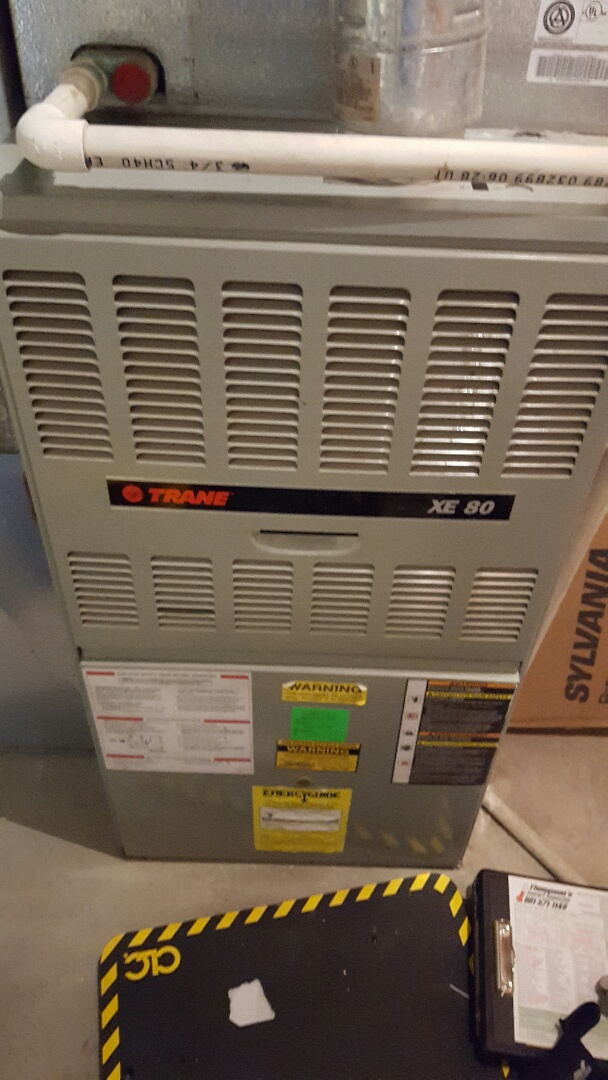 Draper, UT - furnace service call. on trane unit.