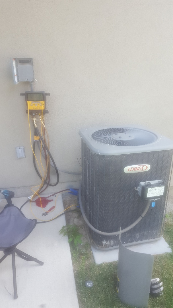 Draper, UT - Ac tune up. On lennox unit