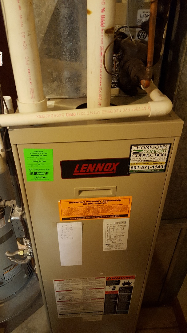 Sandy, UT - Furnace tune up