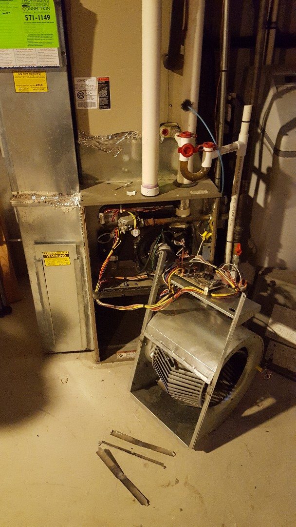 Woods Cross, UT - Replace furnace