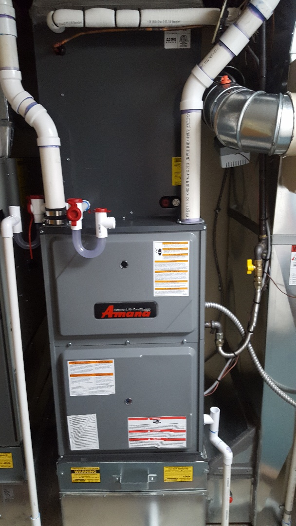 Midvale, UT - Installing New Amana furnace