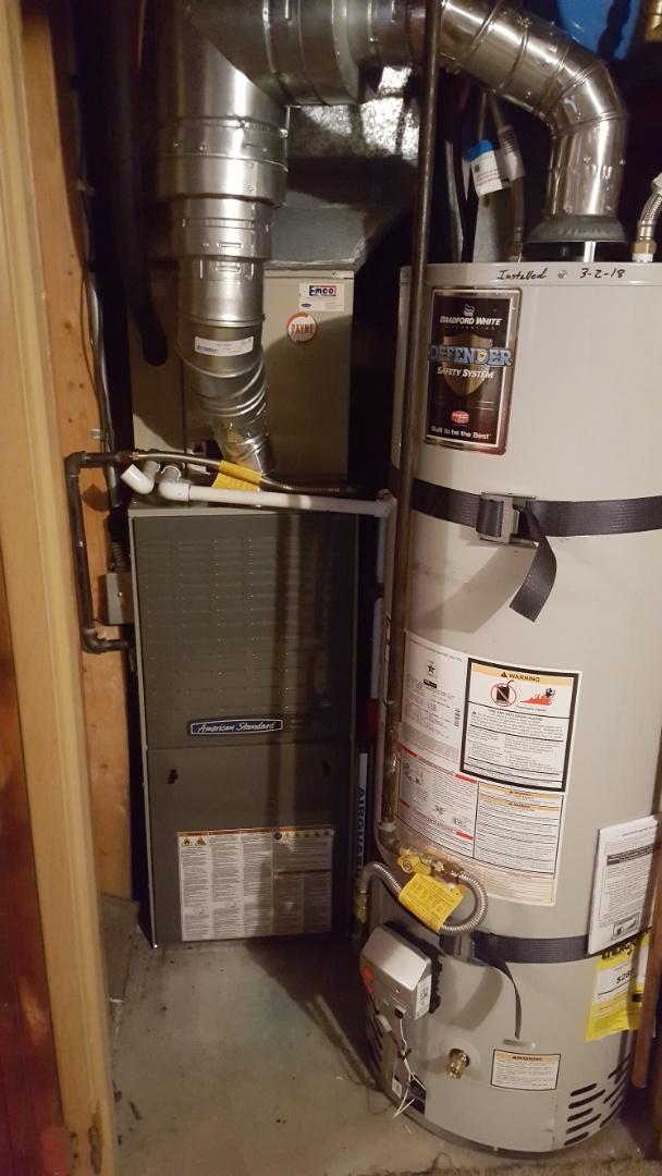 Sandy, UT - Installed an american standard furnace.