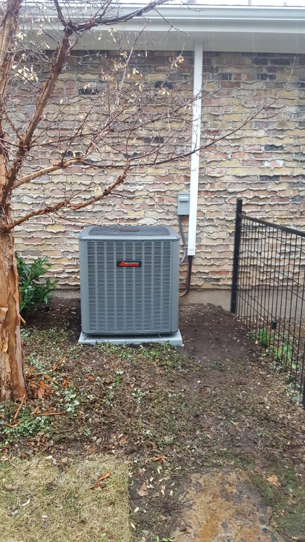 Salt Lake City, UT - New amana high efficiency furnace and ac  with new ductwork in attic.