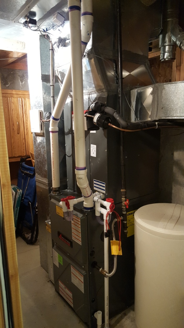 West Jordan, UT - Finished amana furnace, air conditioner, and zoning system.