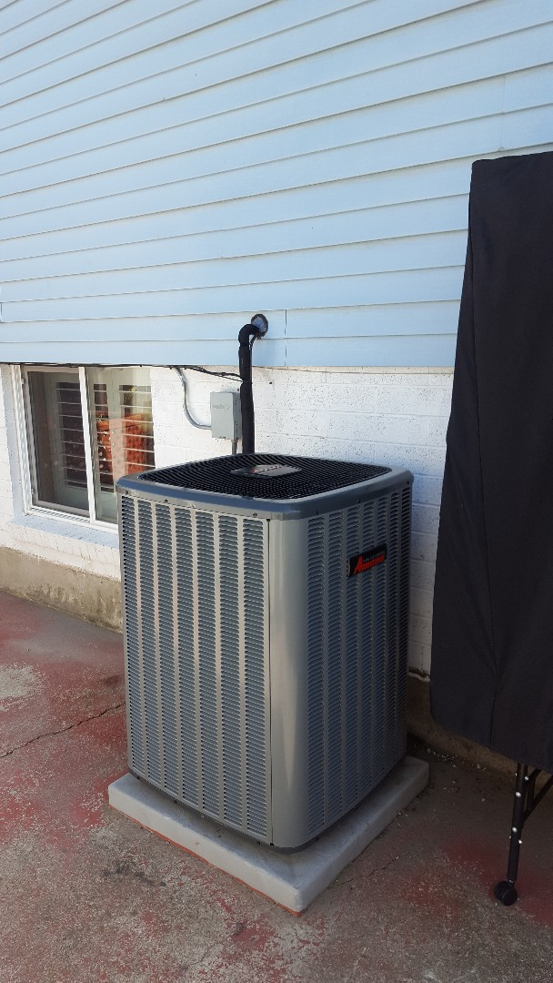 Salt Lake City, UT - New amana air conditioner installed.