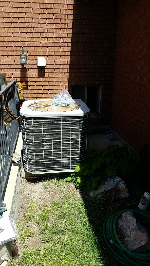 Murray, UT - Replacing furnace and airconditioner.