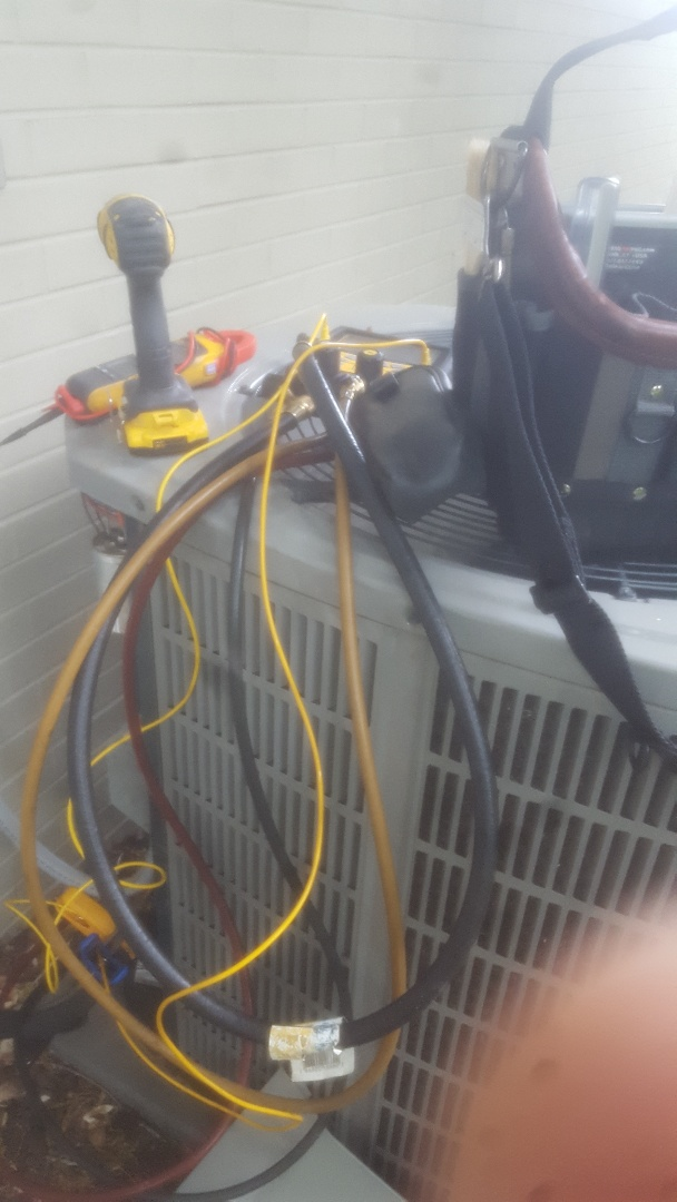 Holladay, UT - Air Conditioning tune up.  On American standard unit.