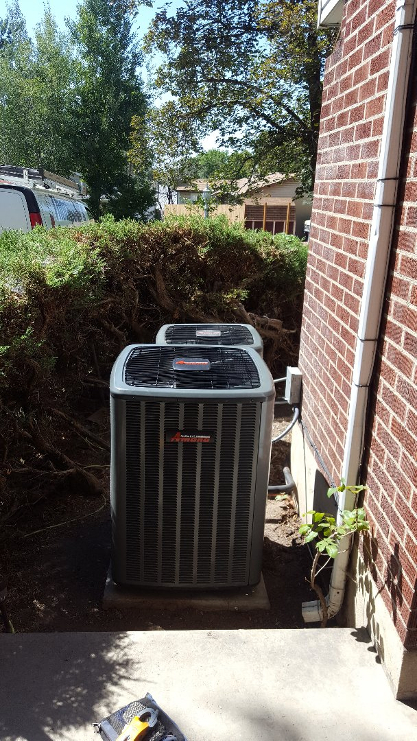 Holladay, UT - New amana furnace and air conditioner install.