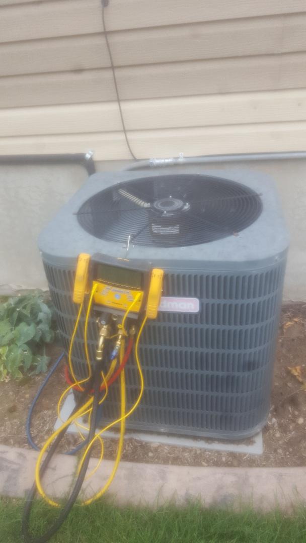 West Jordan, UT - Air conditioning service call. On Goodman unit