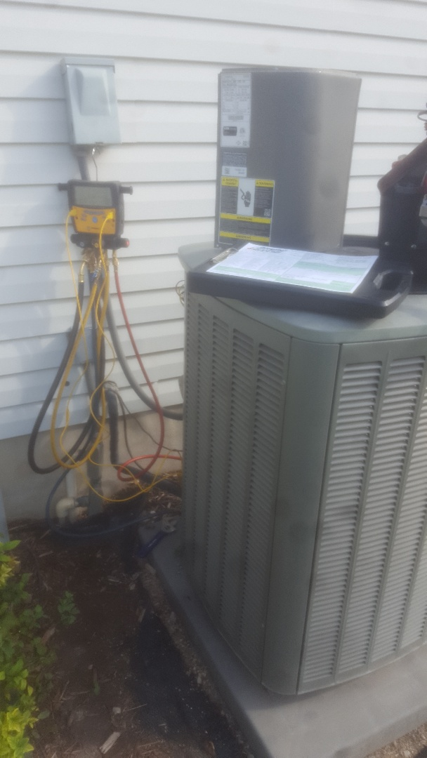 West Valley City, UT - Air conditioning service call. On lennox unit