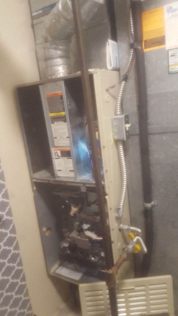 Midvale, UT - Furnace service call on carrier unit