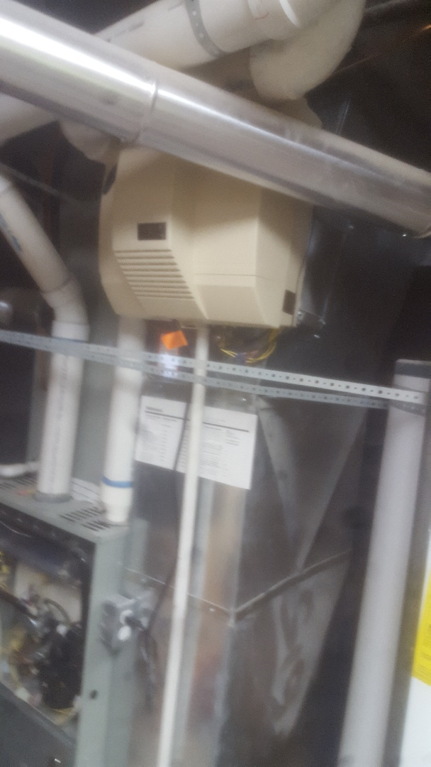 Holladay, UT - Humidifier repair on Aprilaire unit