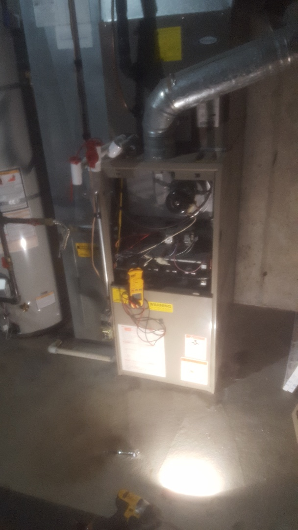 West Valley City, UT - Furnace tune up on Goodman unit
