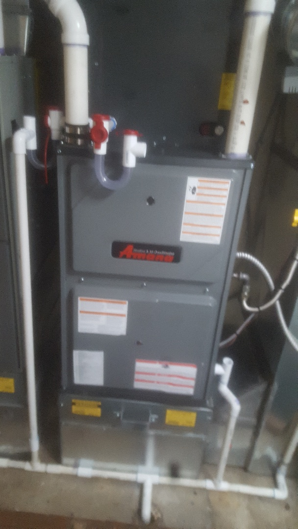Midvale, UT - Performed furnace tuneup on amana furnace