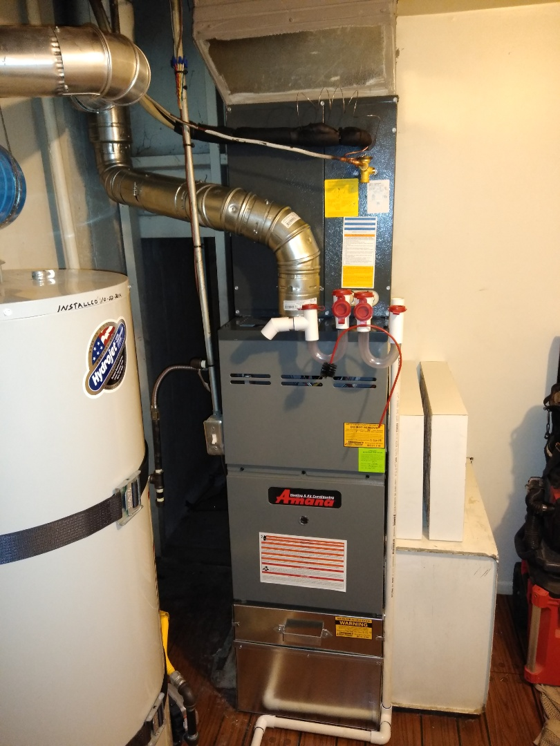 Holladay, UT - Replace furnace and AC with new Amana system