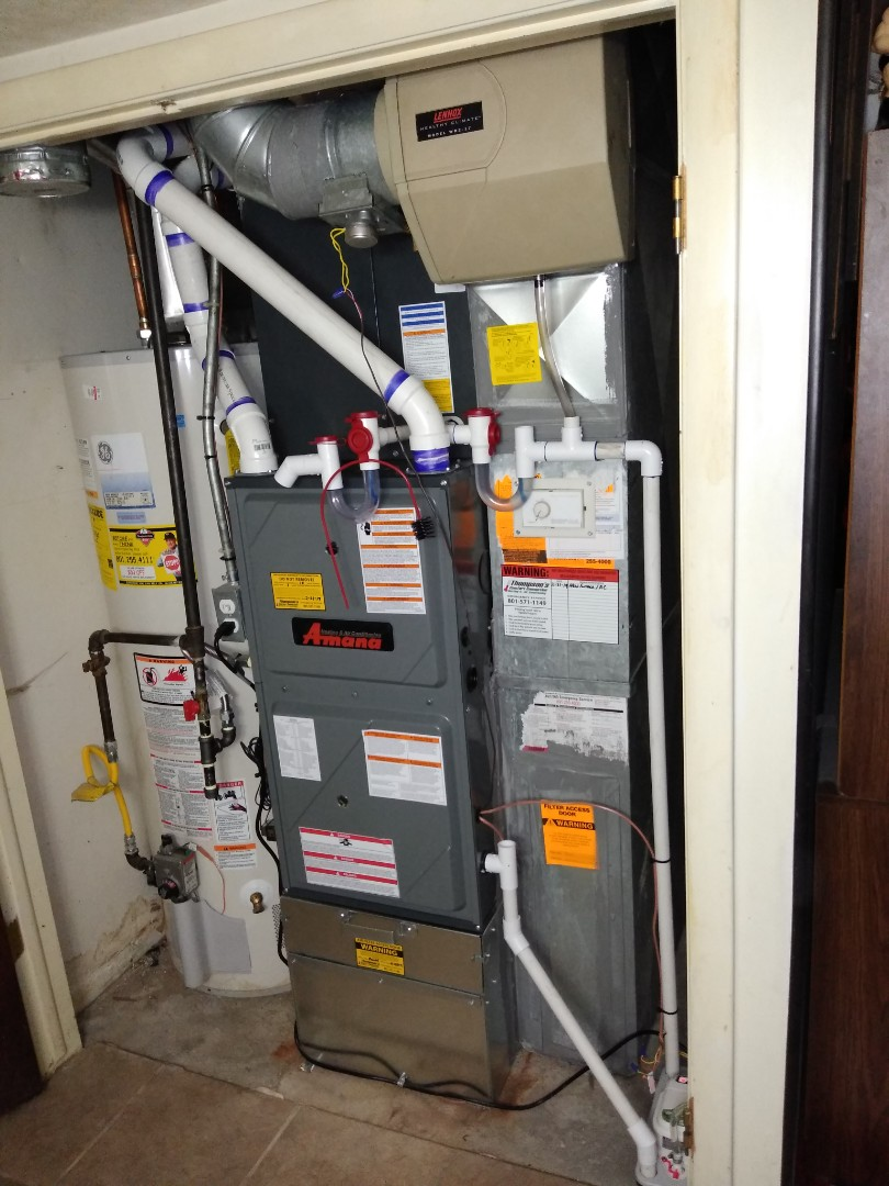 West Valley City, UT - Install Amana high efficiency furnace and AC
