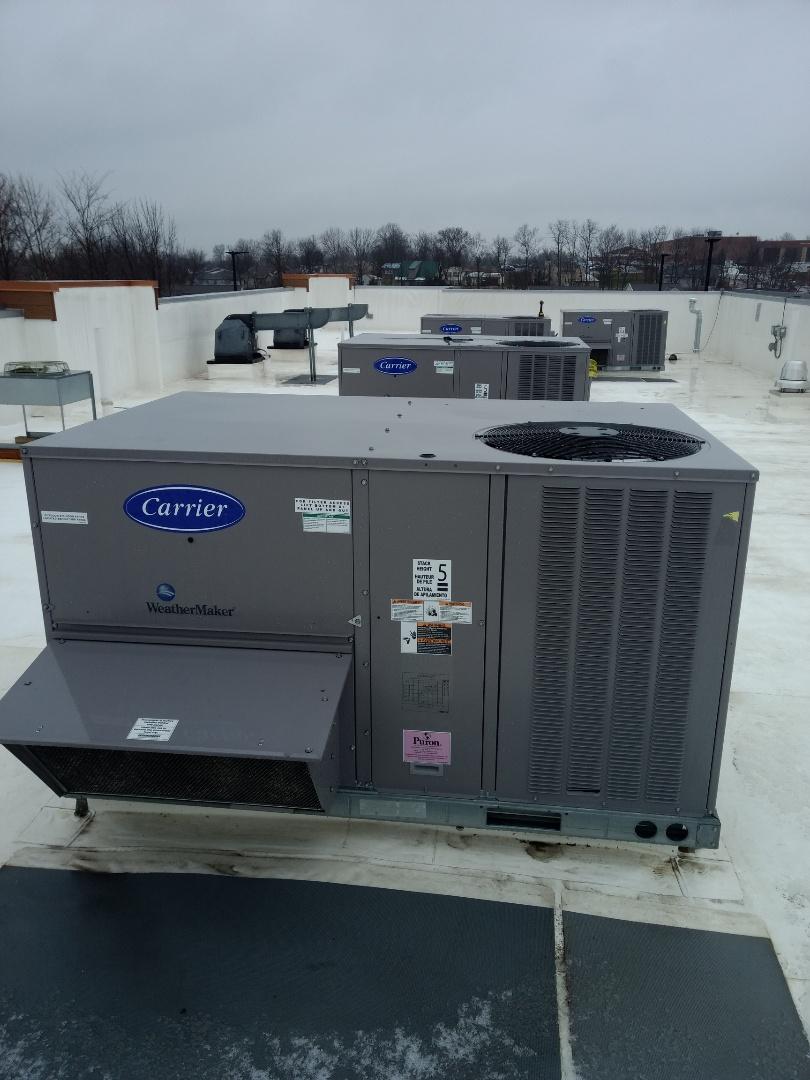 Cincinnati, OH - Doing a heating inspection at a Burger King